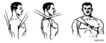 pressure dressing armpit
